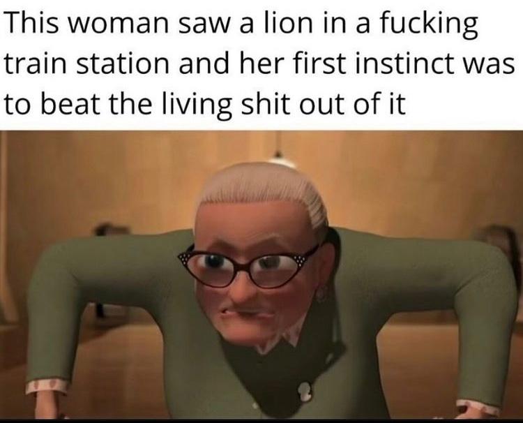 escape from Madagascar 1 - meme