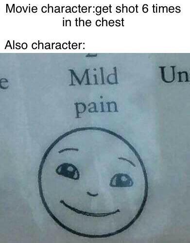 Mild pain - meme