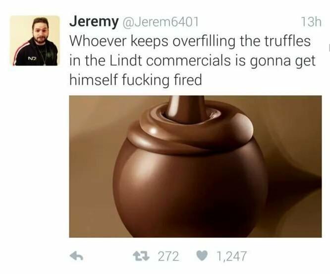 Fucking lindors man - meme