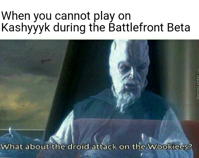 Who plays Battlefront 2 Beta? - meme
