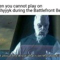 Who plays Battlefront 2 Beta?