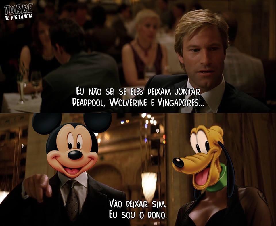por incrível que pareça, depois do star wars, boto fé na Disney - meme