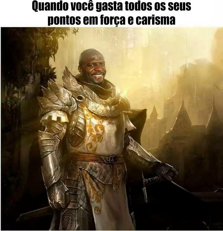Um cara carismático - meme