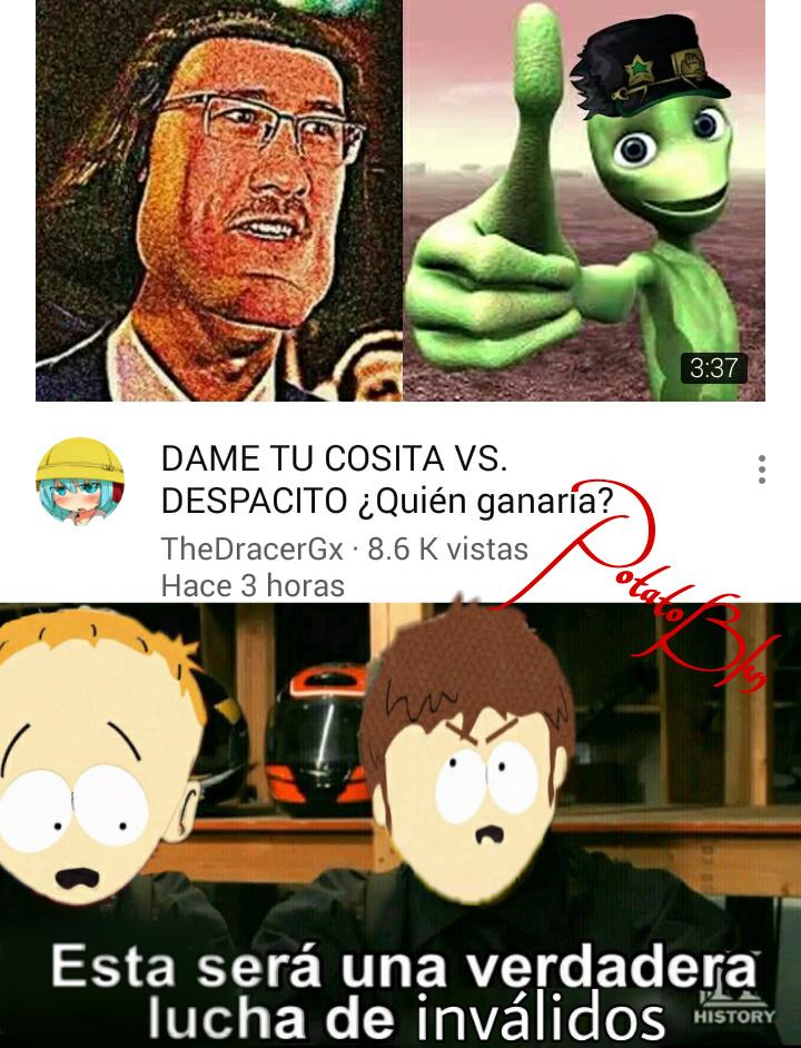 Plantillla modificada - meme