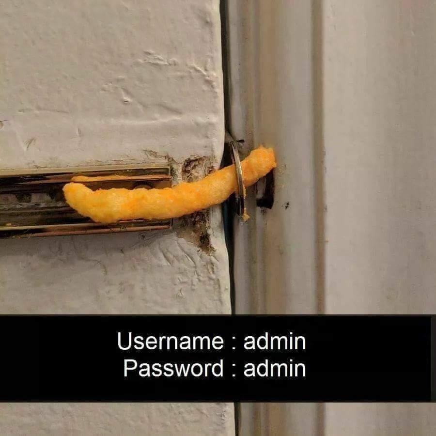 security af lmao - meme
