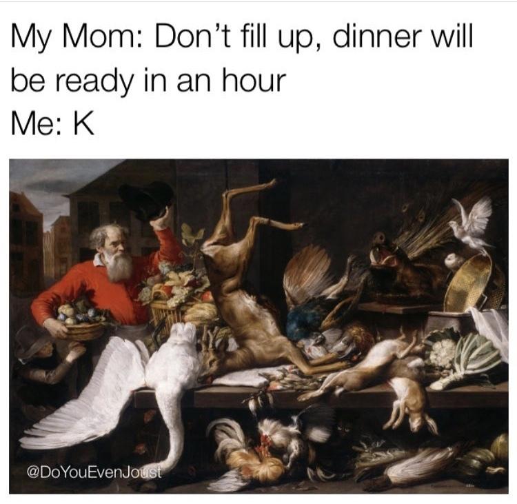Just a little snackaroo - meme
