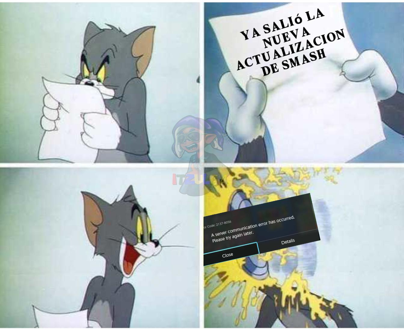 Actualizaciones vergas - meme