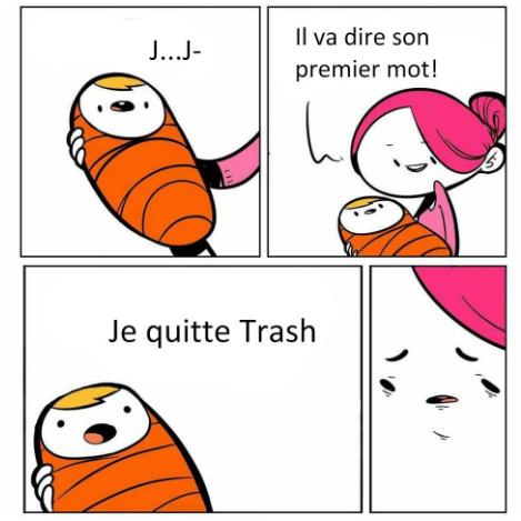 Memedroid parle de VodK, mais Memedroid ne parle pas de Trash