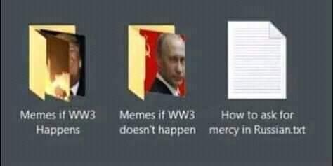 Gotta be prepared - meme