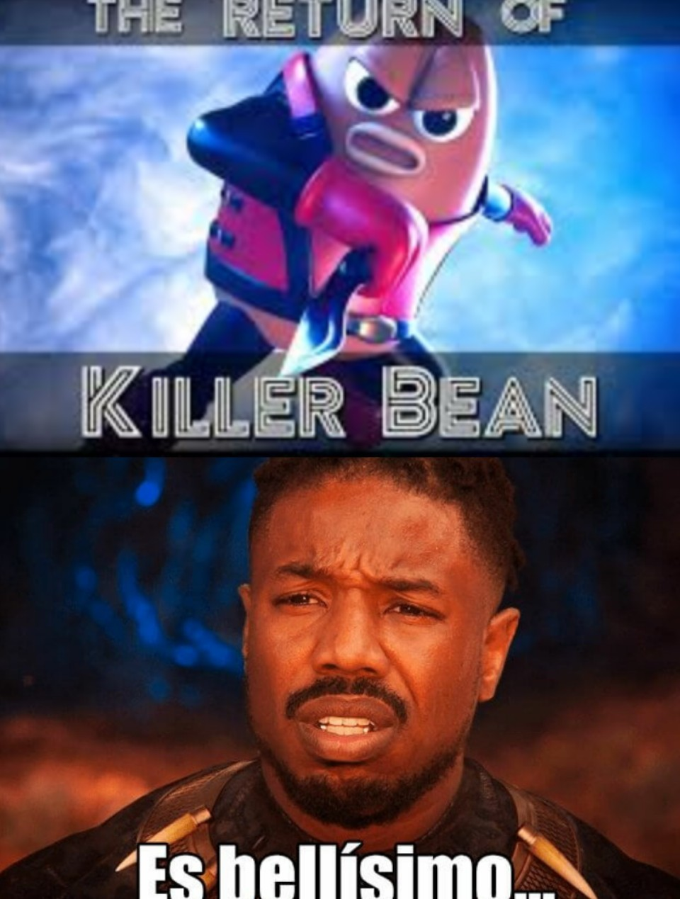 El Regreso De Killer Bean - meme