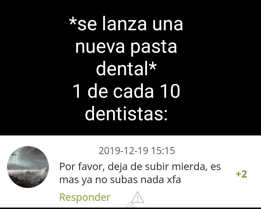 Dentistas - meme