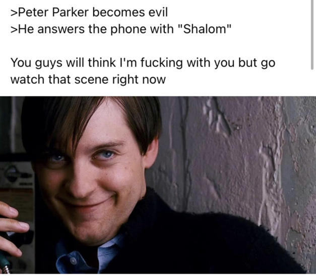 How did Raimi get away from this? - meme