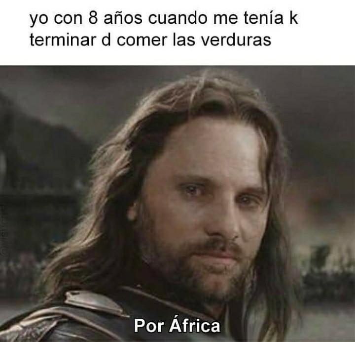 Por africa - meme
