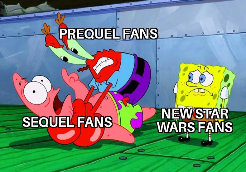 It's star wars right now - meme