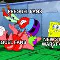 It's star wars right now
