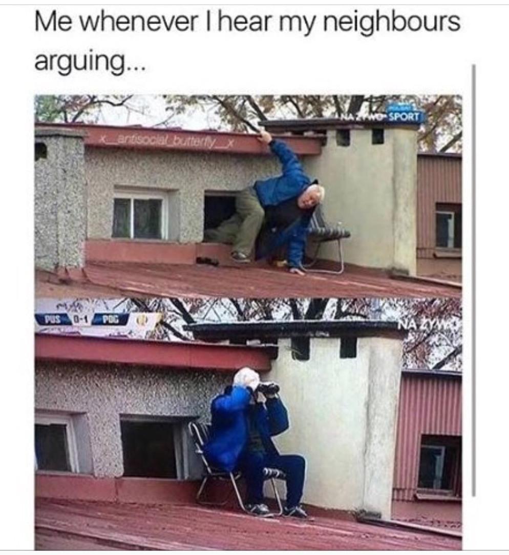 nosey - meme