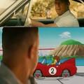 Mentre Goku e Piccolo (Junior) provano ad avere la Patente, Toretto li osserva 0.0
