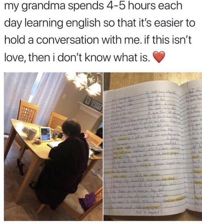 Grandma love! - meme