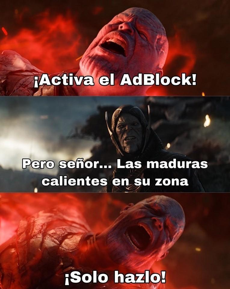 Adblock, ese gran amigo - meme