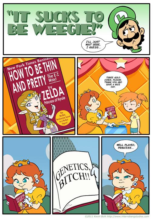 Beauty magazines for princesses? - meme