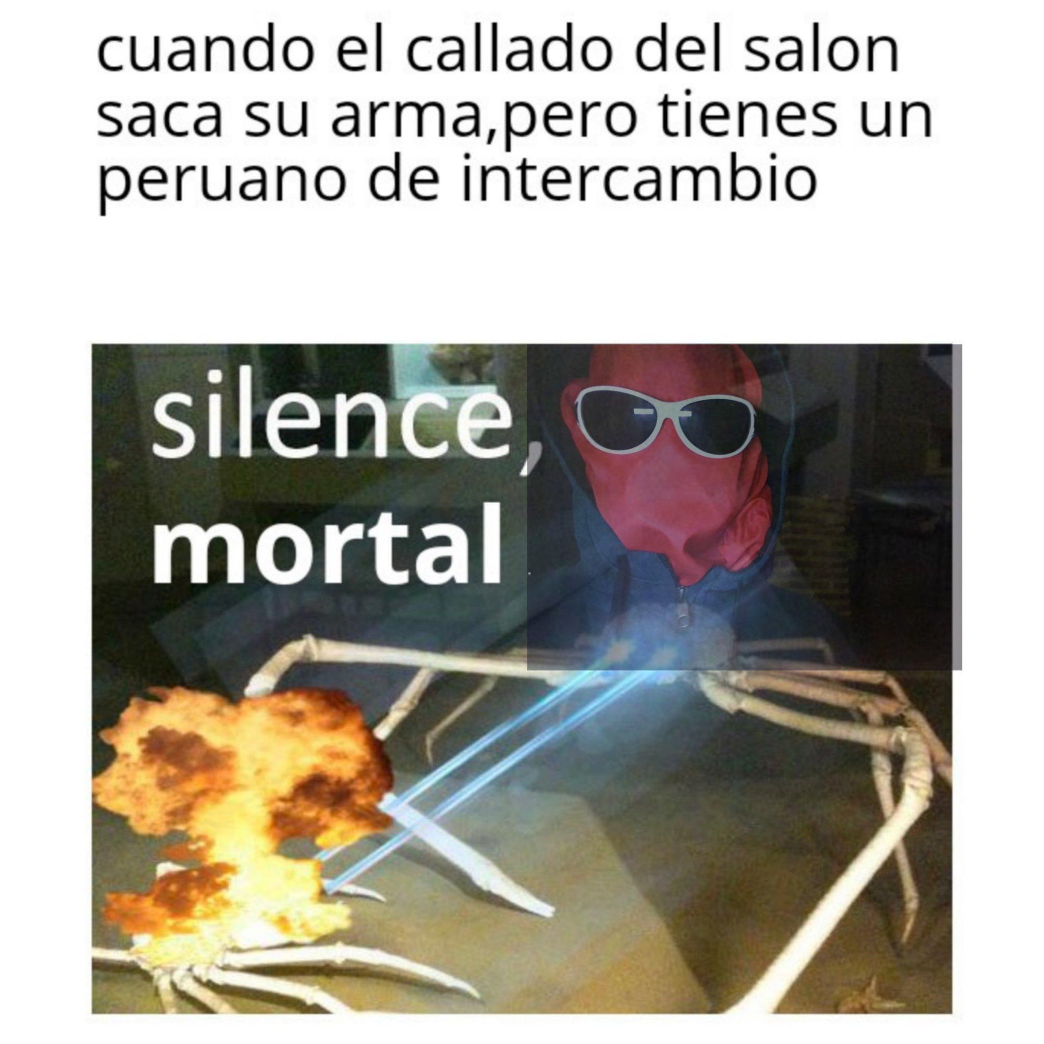 Peruanos,una raza superior - meme