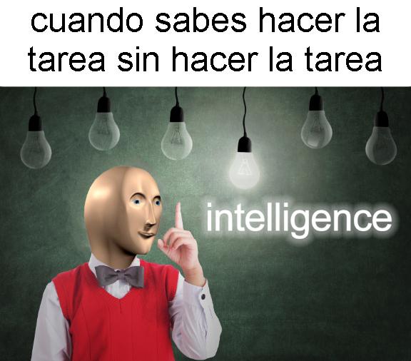intelligence - meme