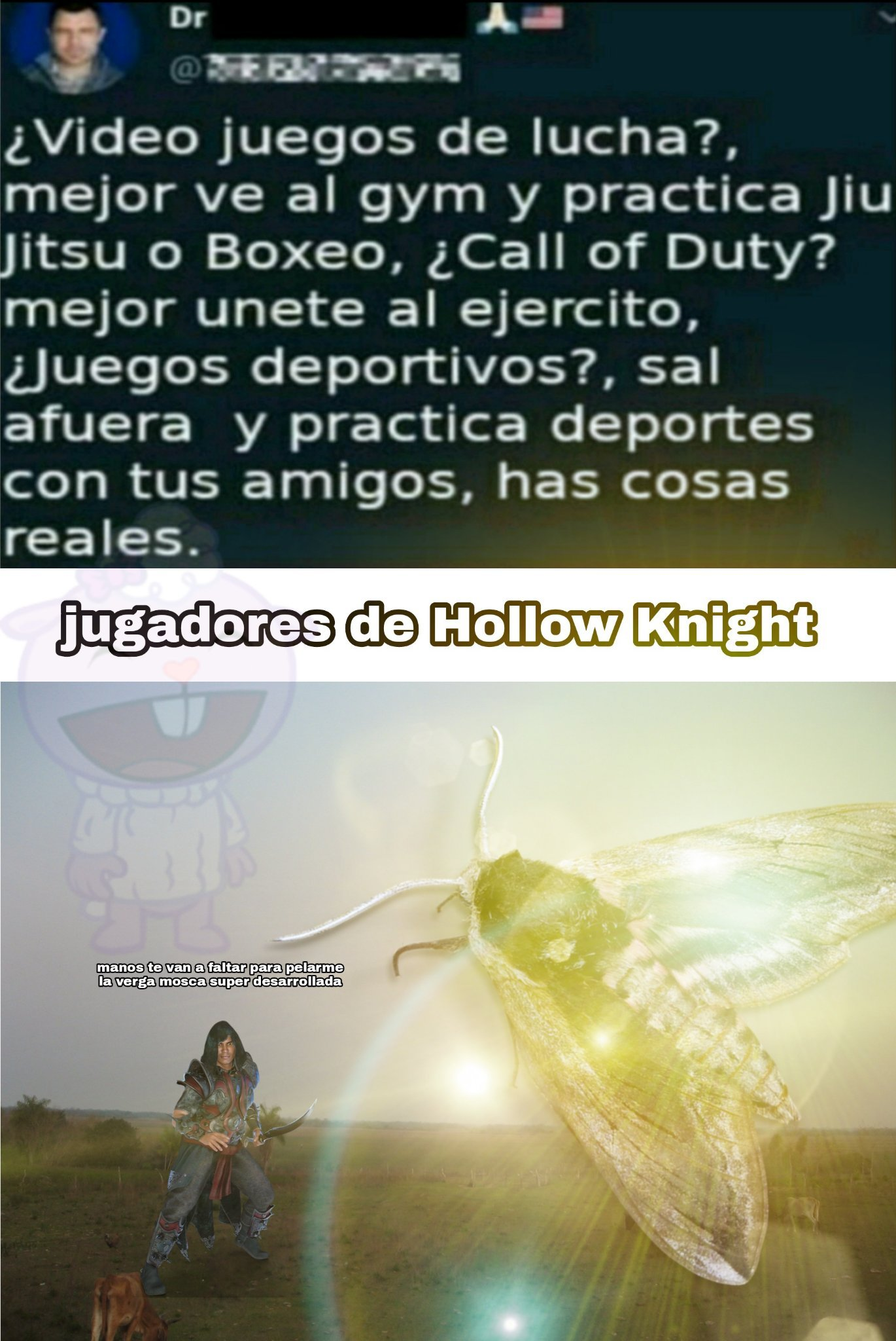 Holloe Knight, juegazo - meme