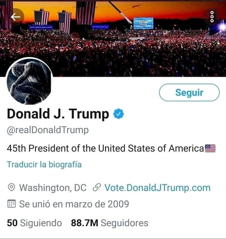 Trump modo sad - meme
