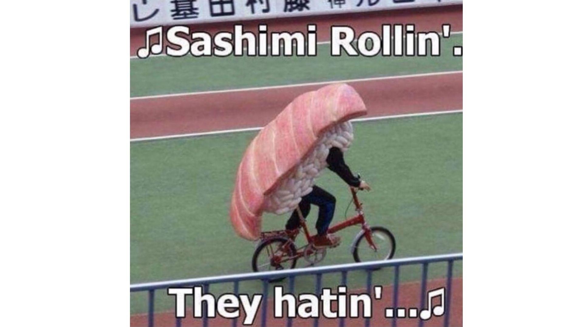 yes sushi - meme