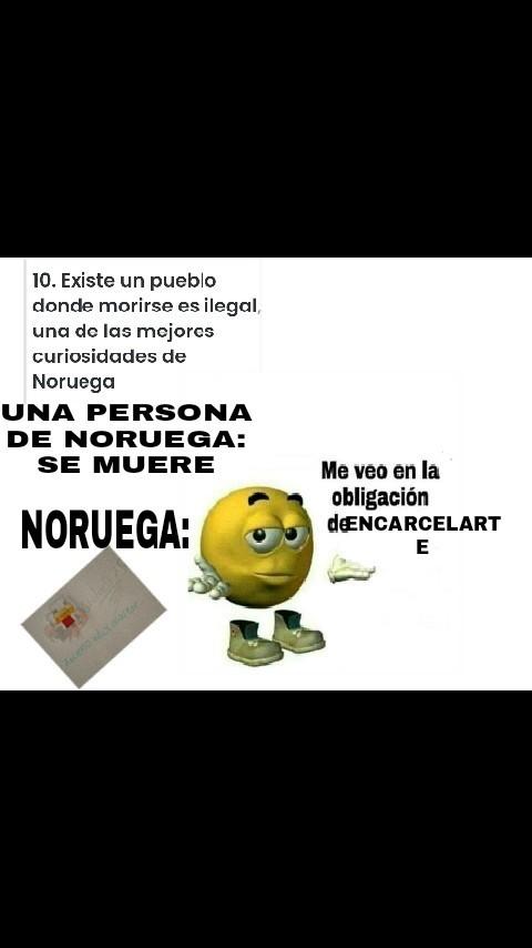 NORUEGA , un país legal - meme