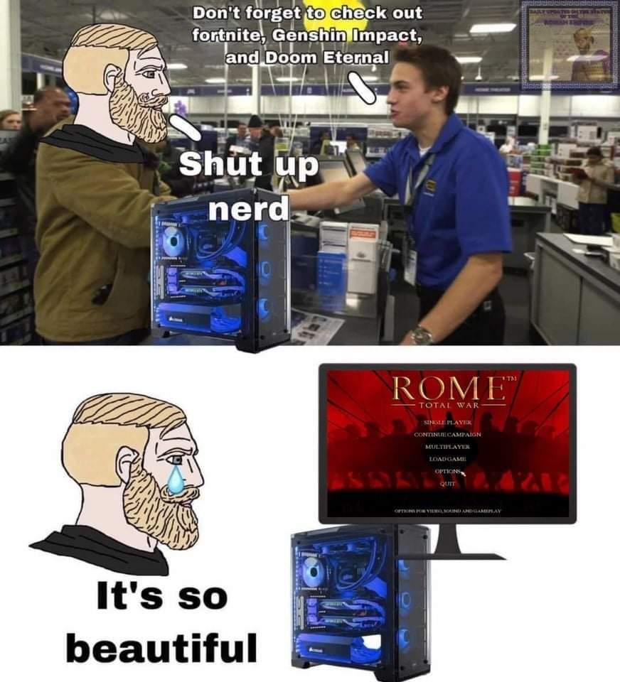 Total War: ROME Remastered - meme