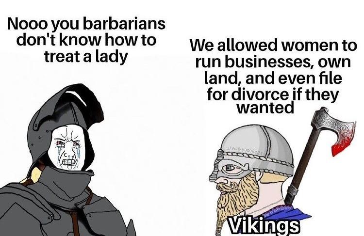 Vikings - meme