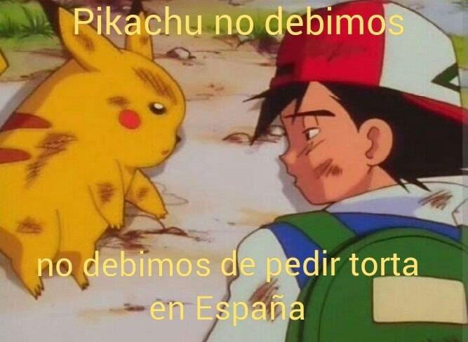 Latinos cuando están en España - meme