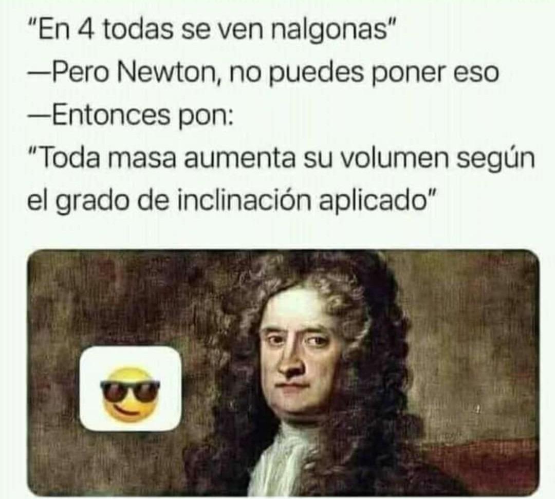 Newton papulince - meme