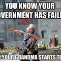 Grandma always want the best for u