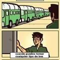 Tomando el bus