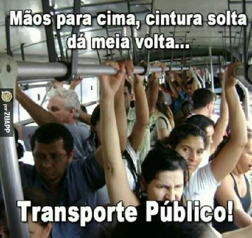 Transporte público! - meme