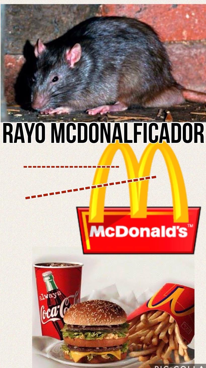 big mac-rata - meme