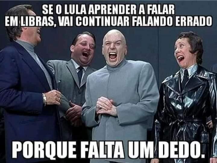 Lula analfabeto - meme