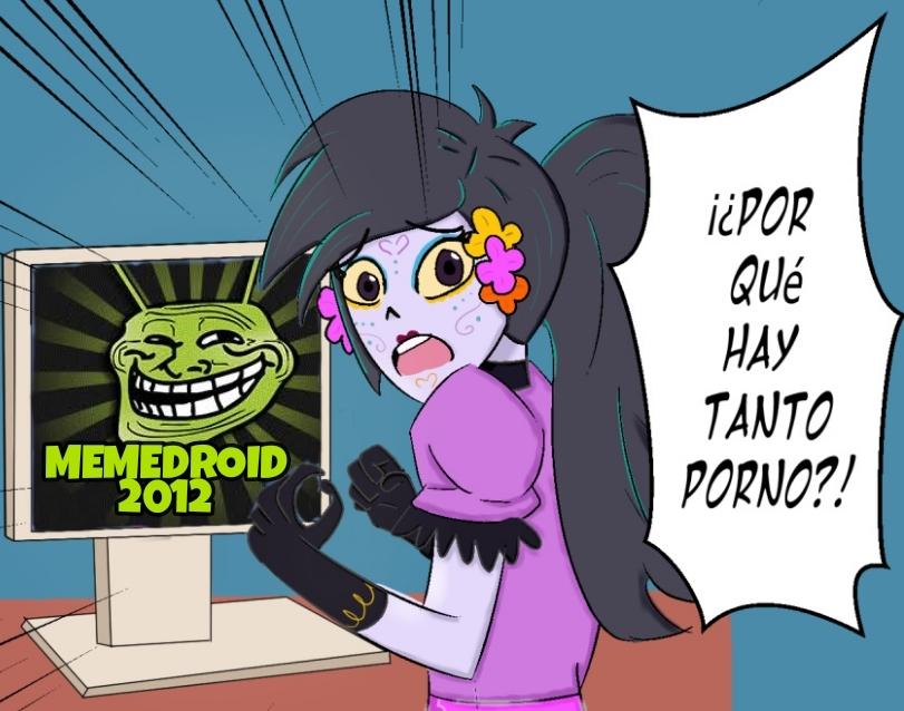 El sucio y viejo pajerosdroid - meme