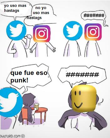 *hastags* - meme