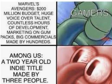 marvel vs among us - meme