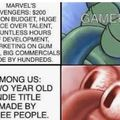 marvel vs among us