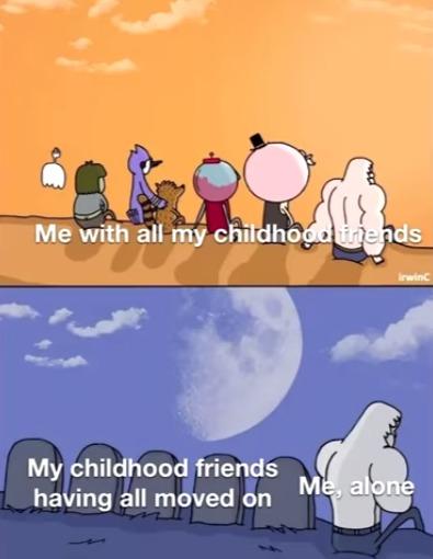 Insert lonely : ( - meme