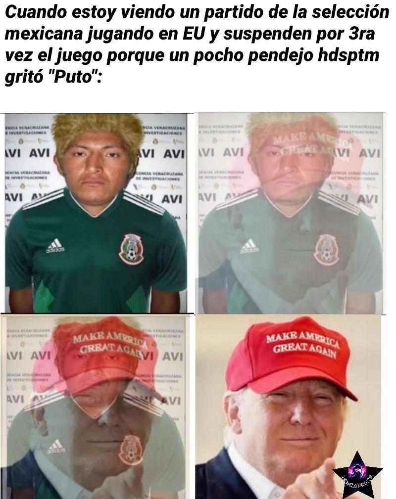 Un pocho es un mexicano nacido en gringolandia. Caguen a negativos a los retrasados que no lean los títulos y sigan preguntando que es un pocho. Estoy hasta la madre de poner contexto y que no lo lean - meme