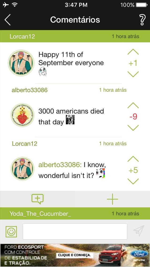 até os americanos se zoam sobre 11/7 - meme