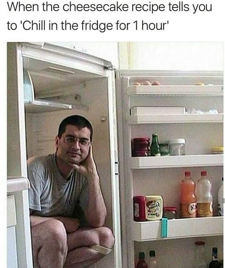 I'm chillin - meme