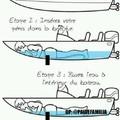 Et grace a cette astuce il n'y a plus de breche dans mon bateau.