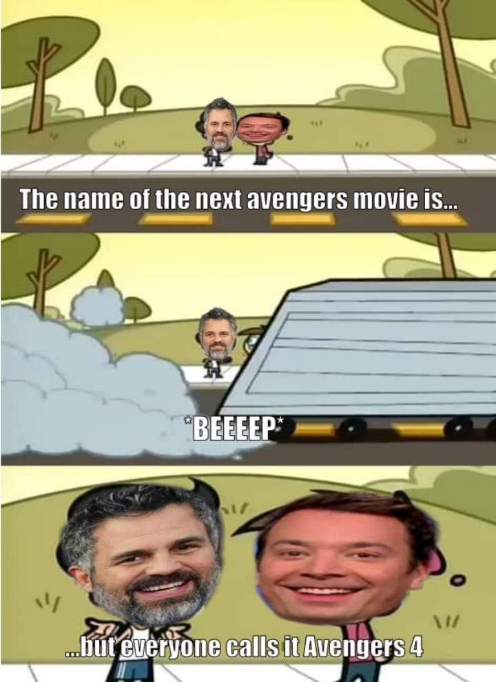 The Last Avenger is a weak title - meme