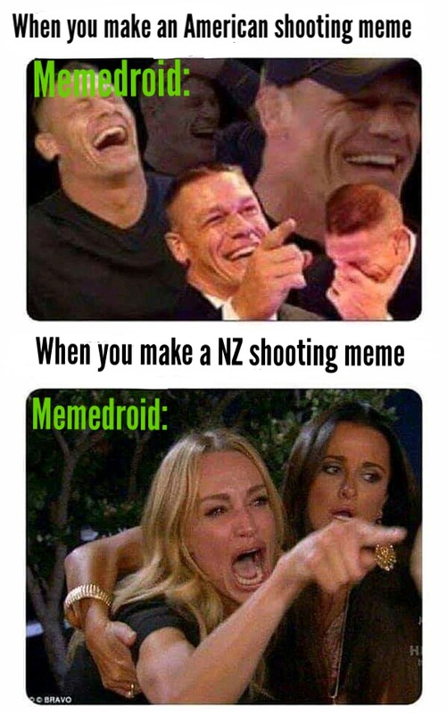 Can we stop gatekeeping what tragedies can be joked about? - meme